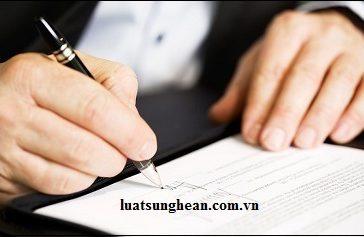 Hợp đồng trước đăng ký kinh doanh