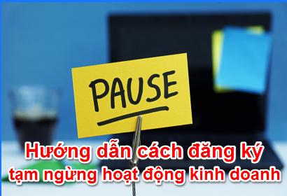 Thủ tục tạm ngưng hoạt động doanh nghiệp tại Nghệ An