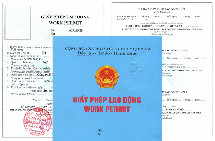Xin giấy phép lao động cho người nước ngoài tại Việt Nam